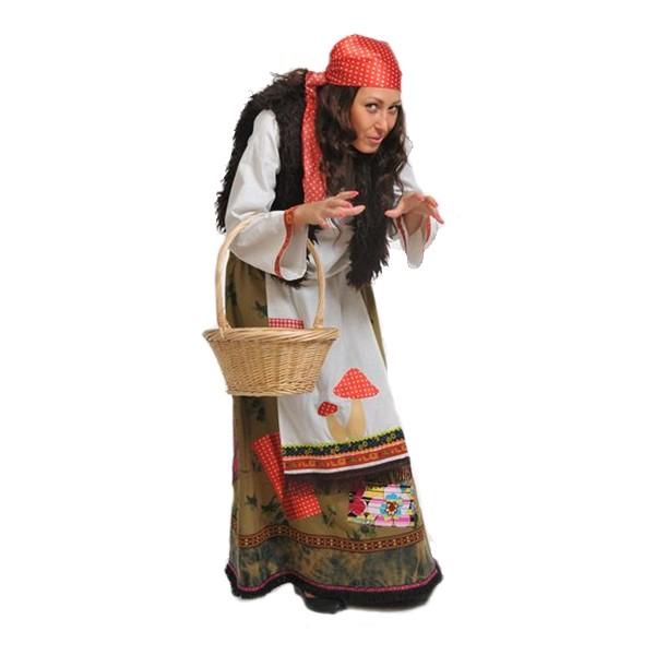 Маскарадный костюм Баба Яга арт. 1008