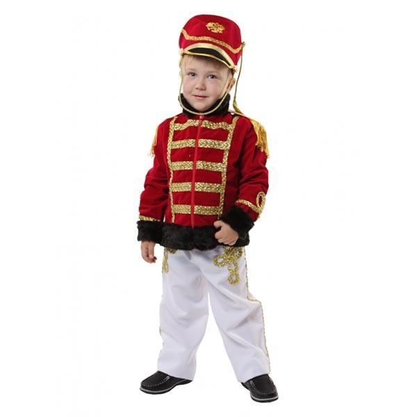 Маскарадный костюм Гусар Люкс (красный кивер) арт. 101 050 116