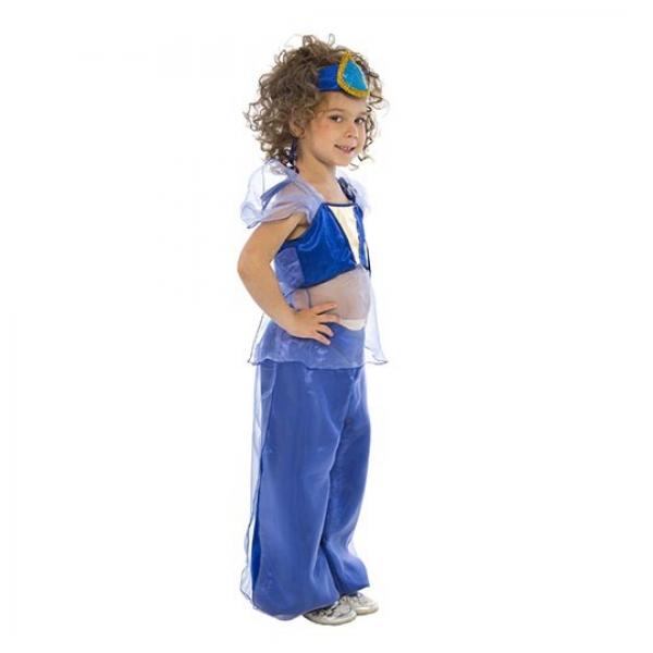 Маскарадный костюм Звезда Востока (синий цвет) арт. 102 013 112