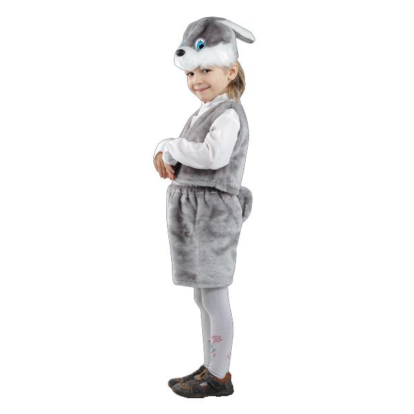 Карнавальный костюм Заяц серый  арт. 107