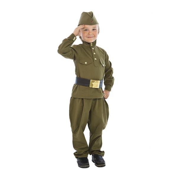 Костюм Гимнастерка с брюками детская 108 002-2
