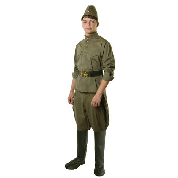 Костюм Гимнастерка с брюками арт 108 002-4