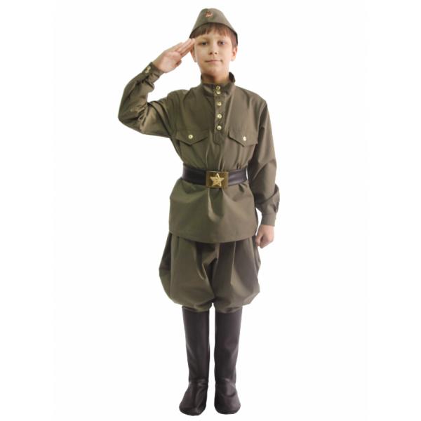 Костюм Гимнастерка с брюками подростковая 108 002-3
