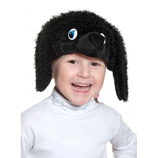 Маска Пудель черный К4102