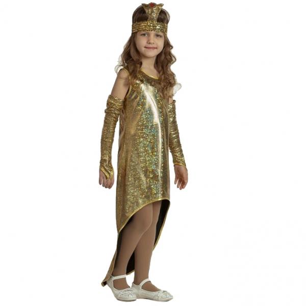 Карнавальный костюм Змея Золотая