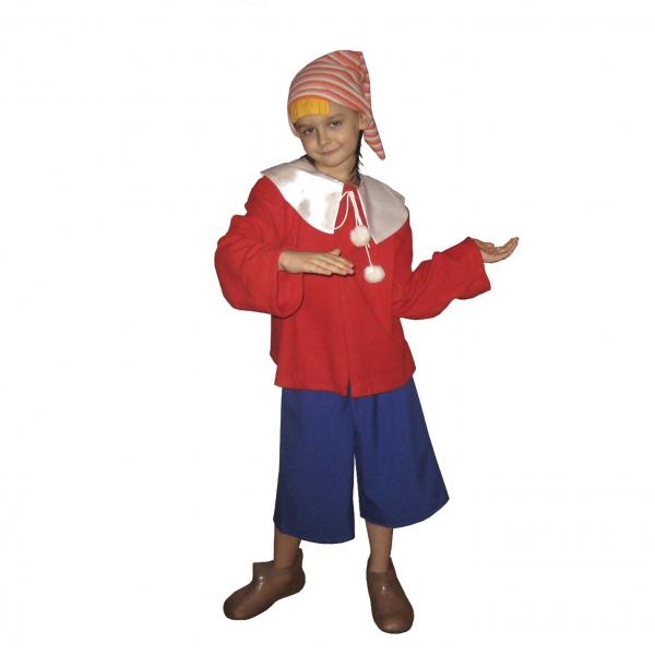 Маскарадный костюм Буратино арт. 7C-1074