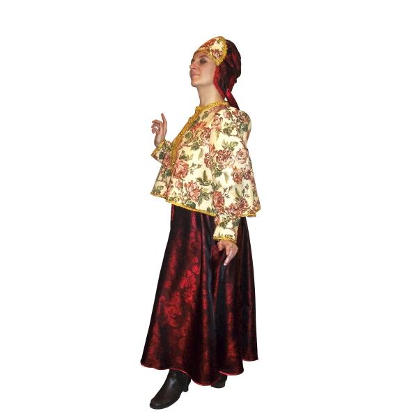 Маскарадный костюм Масленица-Боярыня арт. 7C-1076