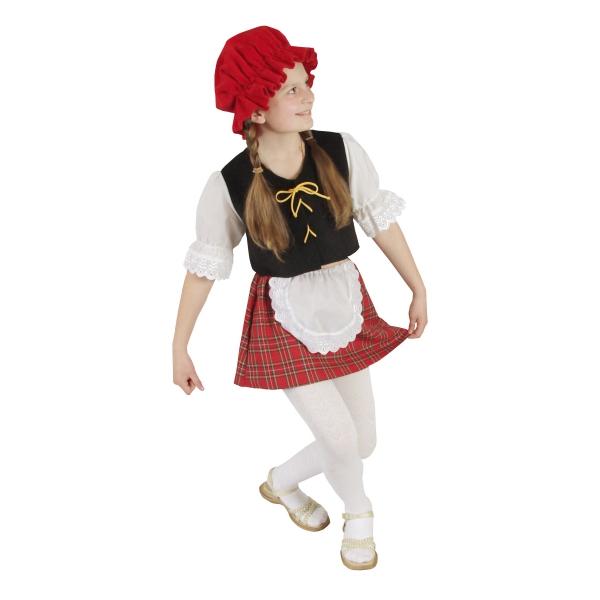 Маскарадный костюм Красная шапочка арт. 7C-389