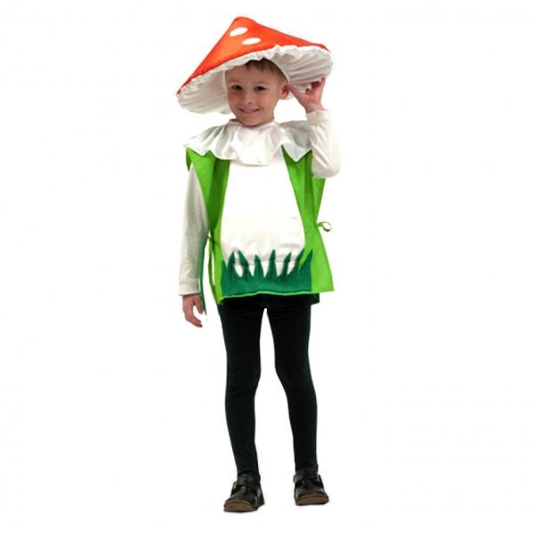 Маскарадный костюм Гриб мухомор арт. 7С-520