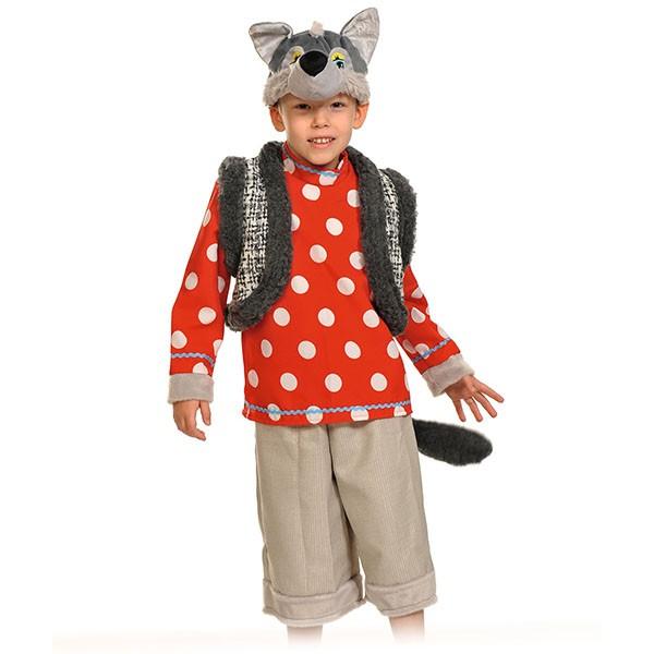 Карнавальный костюм Волк Зубами щелк k8001