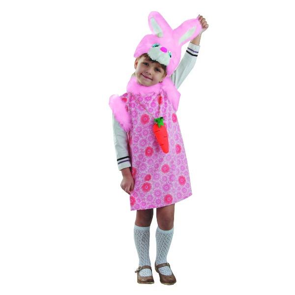 Карнавальный костюм Зайка Липси розовая