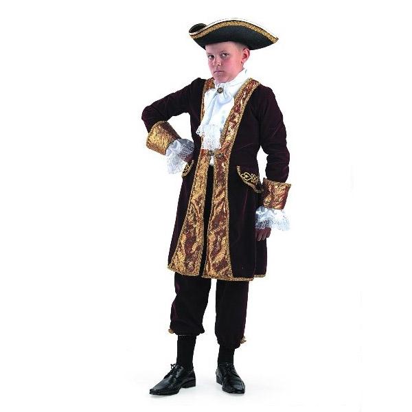 Карнавальный костюм Вельможа (бордо)