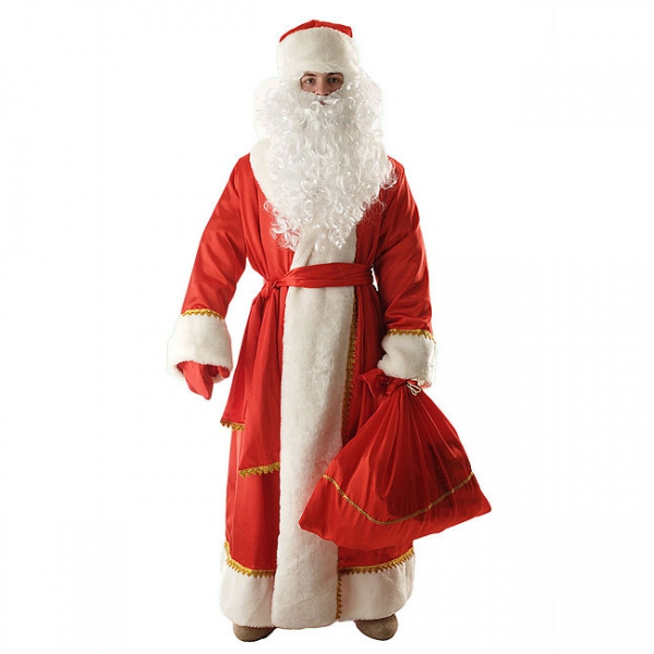 Костюм Деда Мороза (креп-сатин)