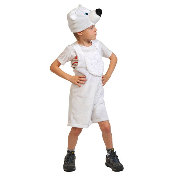 Карнавальный костюм Мишка полярный k3009