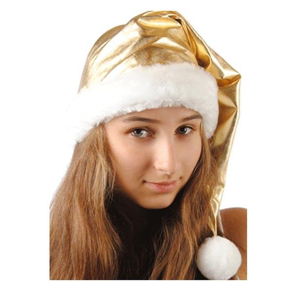 Колпак новогодний из парчи (золотой) арт. 109001001