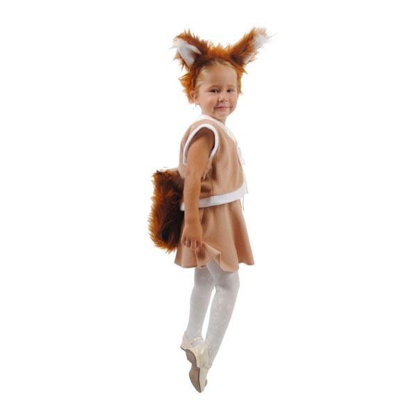 Карнавальный костюм Белочка с юбочкой арт. 103061164