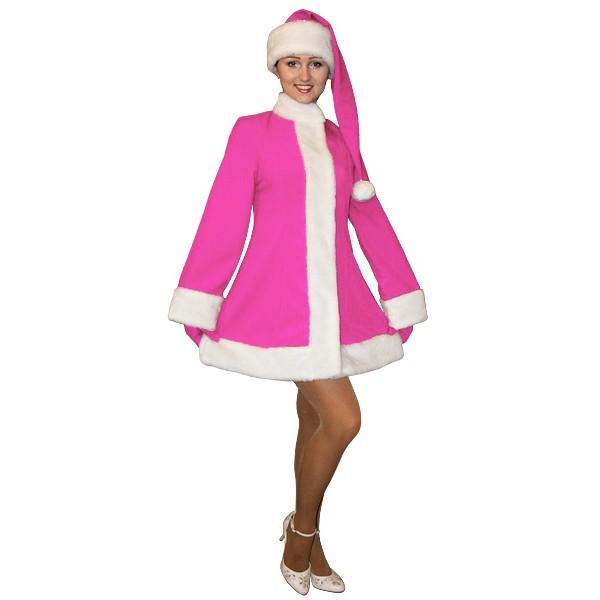 Карнавальный костюм Снегурочки арт MK-3jr