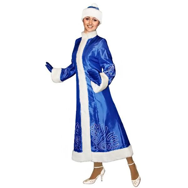 Карнавальный костюм Снегурочки арт S-106s