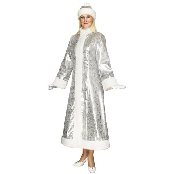 Карнавальный костюм Снегурочки S-202ser