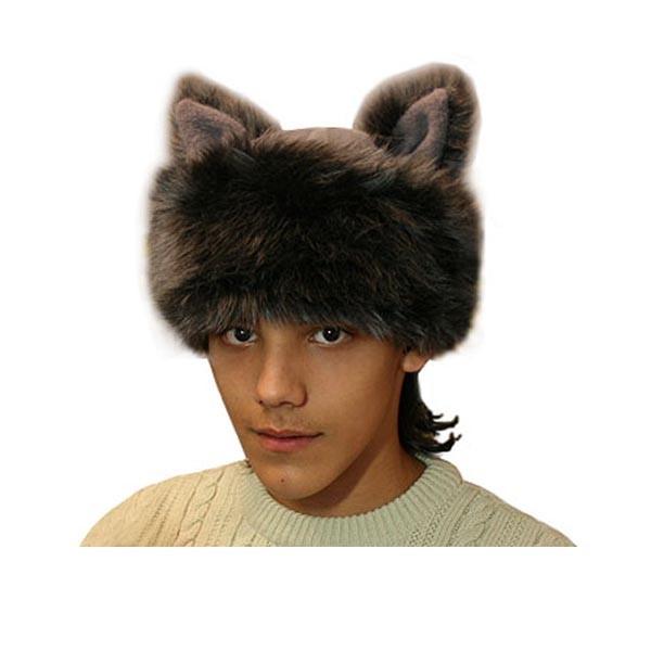 Карнавальная шапка Волка арт SHV-8ser