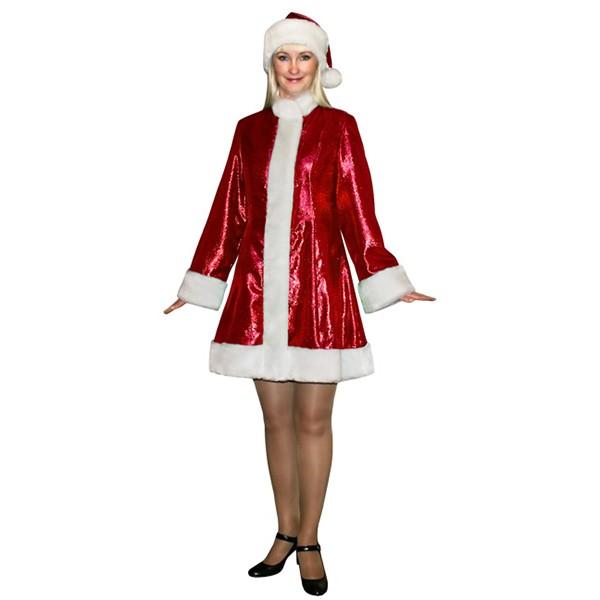 Карнавальный костюм Снегурочки мини SМ-208k