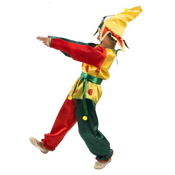 Маскарадный костюм Петрушка арт 101 004 110