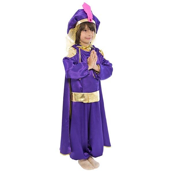Маскарадный костюм Восточный принц (фиолетовый) арт. 101013133
