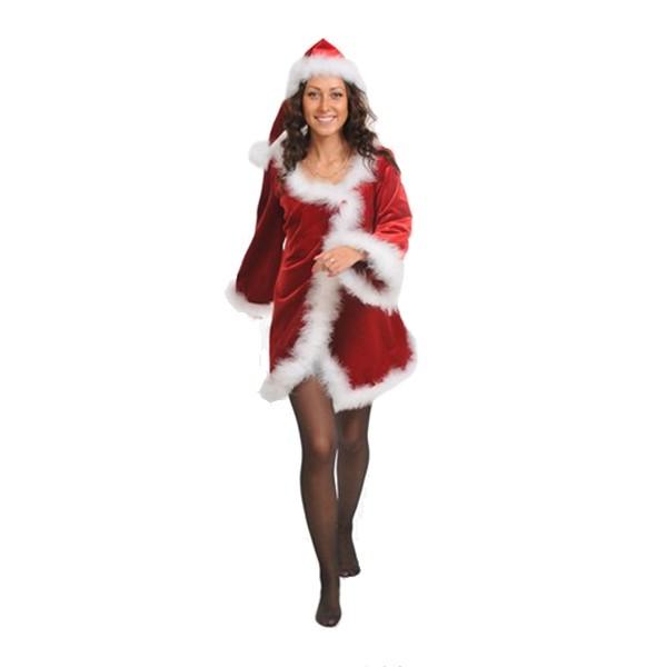 Маскарадный костюм Мисс Санта арт. 1020