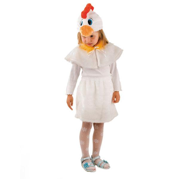 Карнавальный костюм Курочка мех