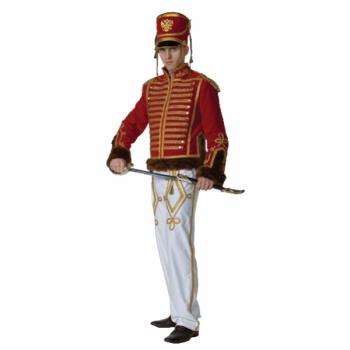 Маскарадный костюм Гусар белый арт. 1133-1