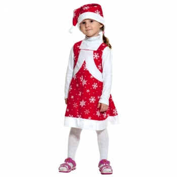 Карнавальный костюм Мисс Санта k2045