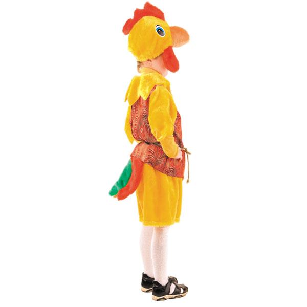 Карнавальный костюм Петух Петя шелк