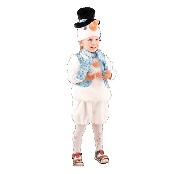 Карнавальный костюм Снеговичок арт. 215