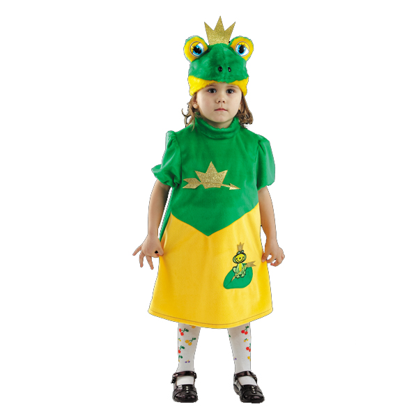 Карнавальный костюм Царевна-лягушка арт. 270