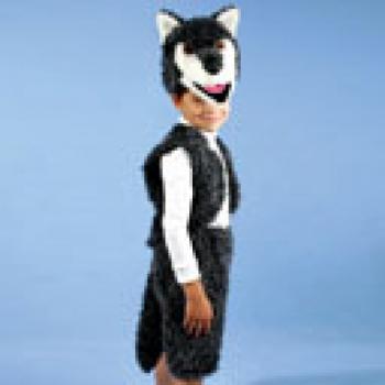 Карнавальный костюм Снеговик Снежный плюш