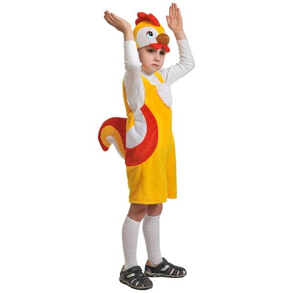 Карнавальный костюм Петушок плюш k3055