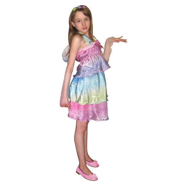 Маскарадный костюм Фея радуга арт. 7C-1068