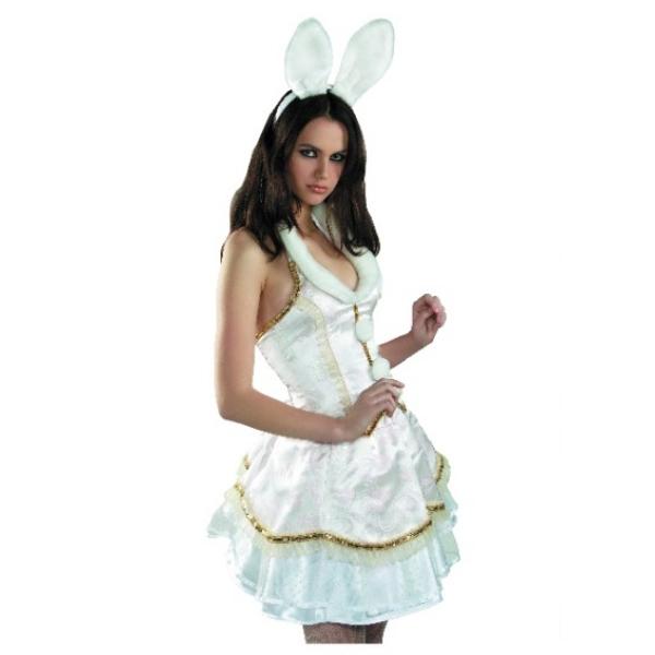 Карнавальный костюм Зайка белая