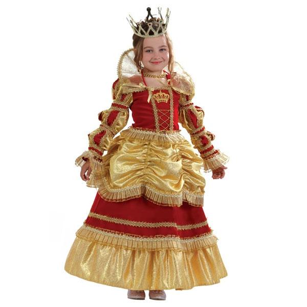 Карнавальный костюм Королева Золотая