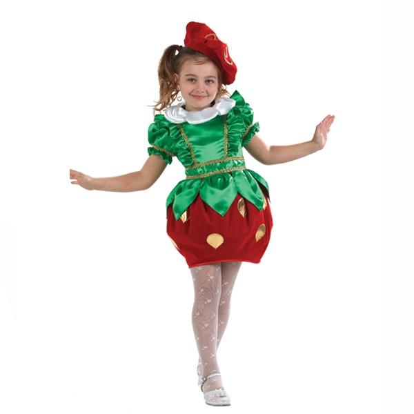 Карнавальный костюм Клубничка