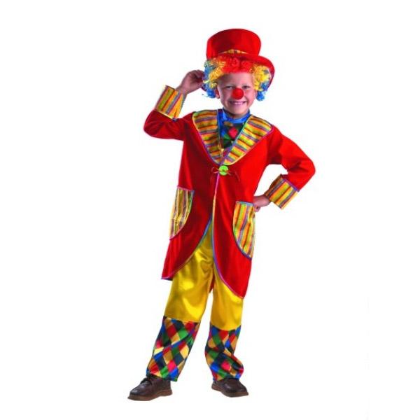 Карнавальный костюм Клоун Франт (красный)