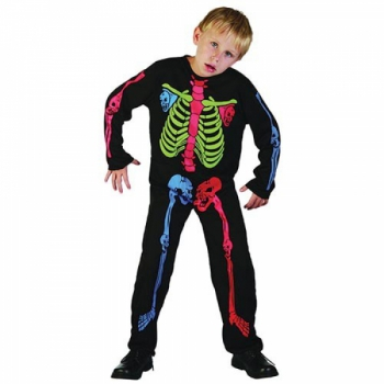 Костюм Скелет разноцветный