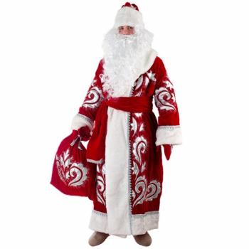 Костюм Деда Мороза (бархат с вышивкой)