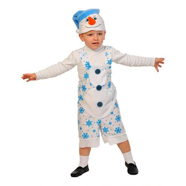 Карнавальный костюм Снеговик K2012