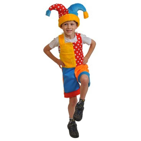 Карнавальный костюм Скоморох арт 3011