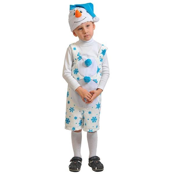 Карнавальный костюм Снеговик K3012
