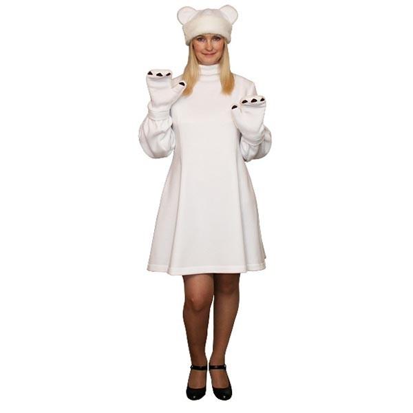 Карнавальный костюм Белая Медведица арт KKVd-11b