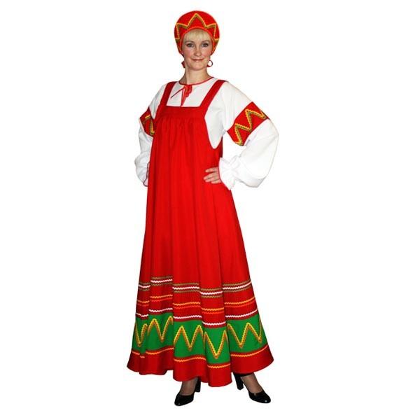 Карнавальный костюм Ульяна арт KKVd-3-28kz