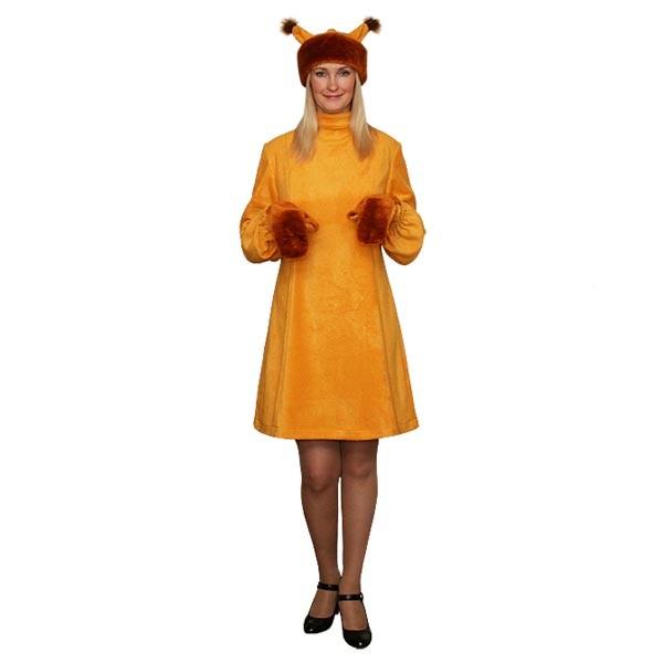 Карнавальный костюм Белка арт KKVd-6rig