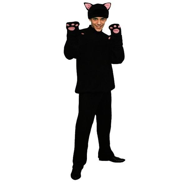 Карнавальный костюм Черный кот арт KKVm-2ch